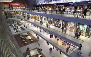 reforma de loja de shopping